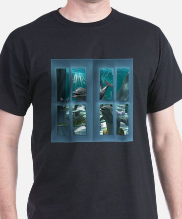 Funny dolphins T-Shirt