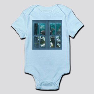 Funny dolphins Body Suit
