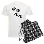 Animal Paw Prints Pajamas