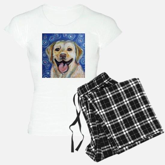 Unique Yellow labrador retriever Pajamas