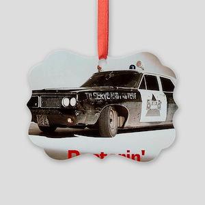 Doctorin' Picture Ornament