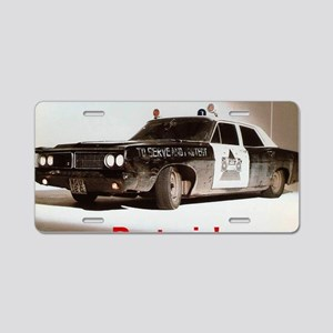 Doctorin' Aluminum License Plate