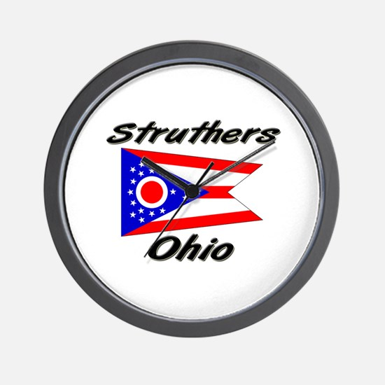 Struthers Ohio Wall Clock