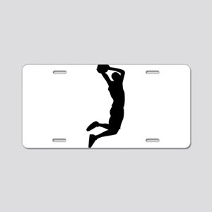 Slam Dunk Black Aluminum License Plate