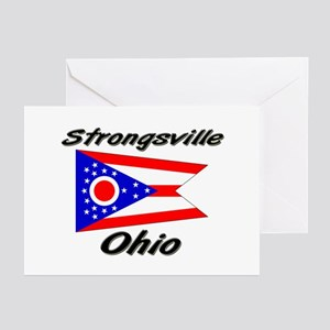 Strongsville Ohio Greeting Cards (Pk of 10)