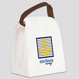 Anchors Away Canvas Lunch Bag