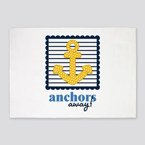 Anchors Away 5'x7'Area Rug
