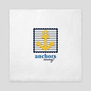 Anchors Away Queen Duvet