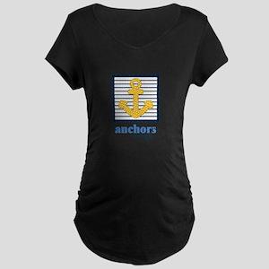 Anchors Away Maternity T-Shirt