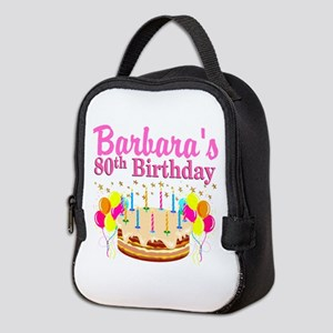 80 AND FABULOUS Neoprene Lunch Bag