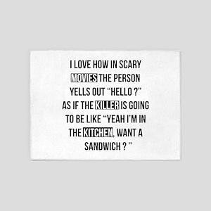 Movies Killer Kitchen 5'x7'Area Rug