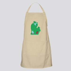 State Of Michigan Apron
