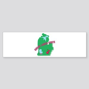 Great Lakes State Bumper Sticker