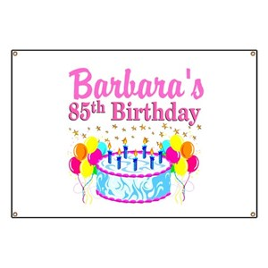 85th Birthday Party Banners