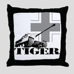 tiger tank Jagdpanzer V Throw Pillow