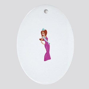 Beauty Queen Ornament (Oval)