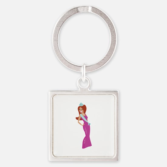 Beauty Queen Keychains