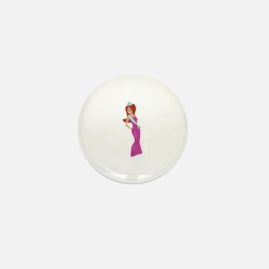 Beauty Queen Mini Button