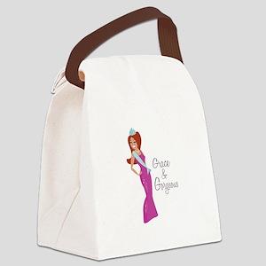 Grace & Gorgeous Canvas Lunch Bag