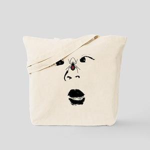 spider face strabismus Tote Bag