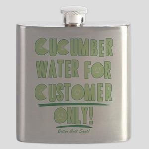 Cucumber Water Better Call Saul Flask