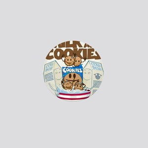 Milk_and_cookies Mini Button (10 pack)