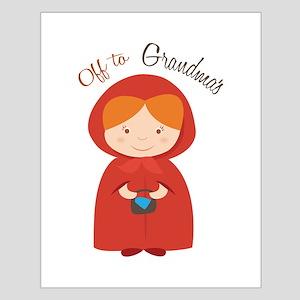 Off to Grandmas Posters