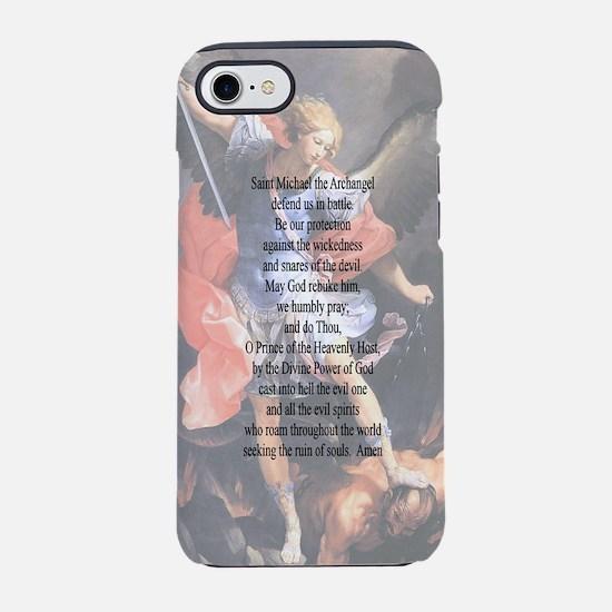 Saint Michael the Archangel Prayer iPhone 7 Tough