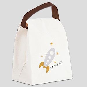 Star Treatment Canvas Lunch Bag