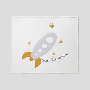Star Treatment Throw Blanket