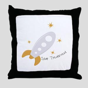 Star Treatment Throw Pillow