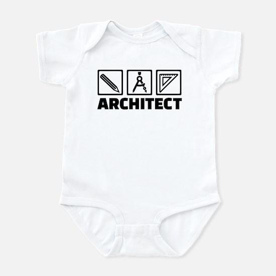 Architect tools compass Infant Bodysuit