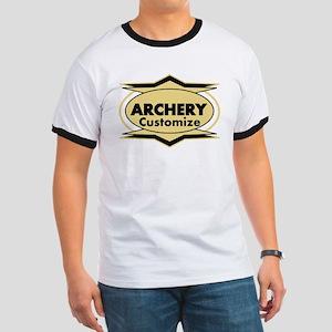 Archery Star stylized Ringer T