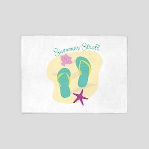 Summer Stroll 5'x7'Area Rug