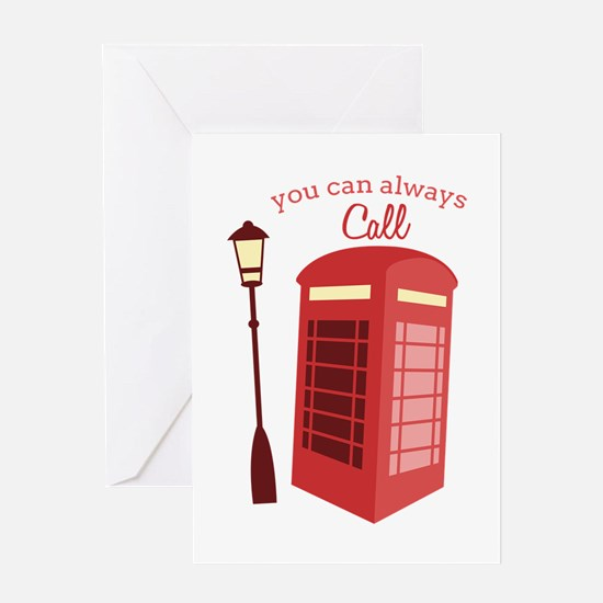 You Can Always Call Greeting Cards