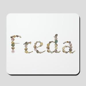Freda Seashells Mousepad