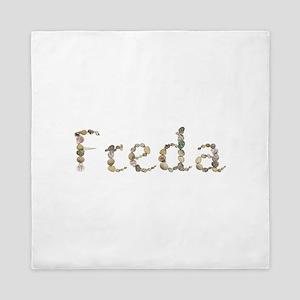 Freda Seashells Queen Duvet