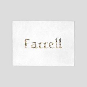 Farrell Seashells 5'x7' Area Rug