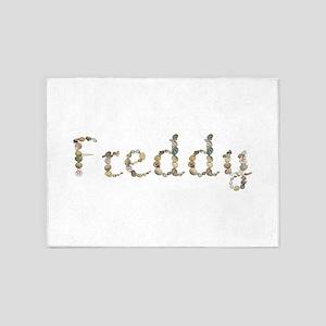 Freddy Seashells 5'x7' Area Rug