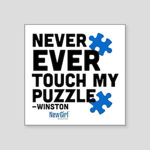 """winston Square Sticker 3"""" x 3"""""""