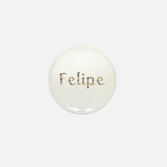 Felipe Seashells Mini Button
