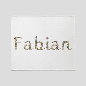 Fabian Seashells Throw Blanket