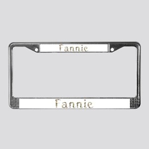 Fannie Seashells License Plate Frame