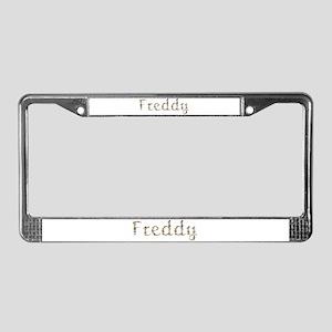 Freddy Seashells License Plate Frame
