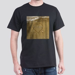 Evelyn Beach Love Dark T-Shirt