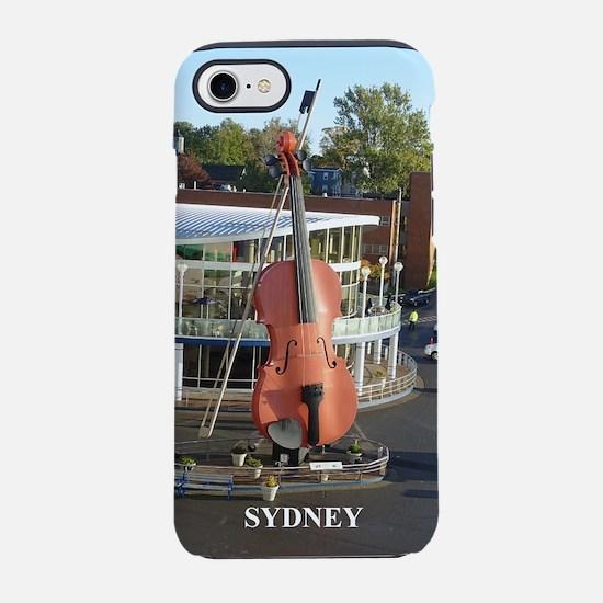 Sydney Fiddle iPhone 7 Tough Case