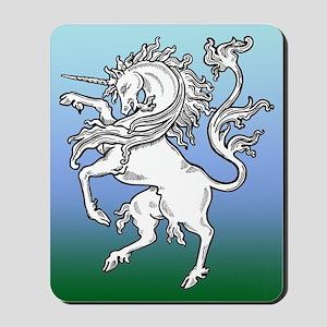 Fierce Unicorn Mousepad