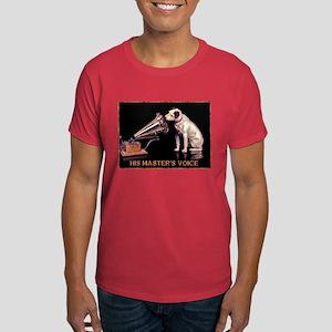 VINTAGE DOG ART: RCA DOG Dark T-Shirt