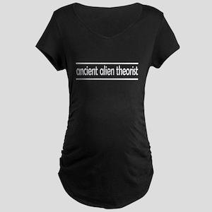 ancient alien theorist Maternity T-Shirt