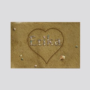 Erika Beach Love Rectangle Magnet